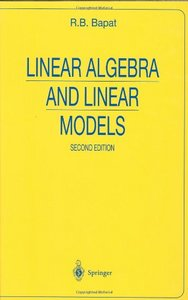 Linear Algebra and Linear Models free download