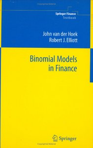 Binomial Models in Finance (Springer Finance) by John van der Hoek free download