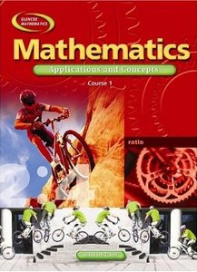 Mathematics: Applications and Concepts, Course 1, Student Edition (Glencoe Mathematics) by McGraw-Hill free download