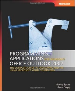 Programming Applications for Microsoft Office Outlook 2007 free download