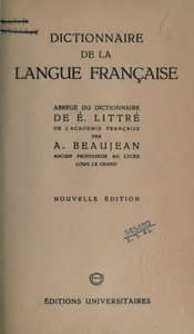 Dictionnaire de la langue française free download