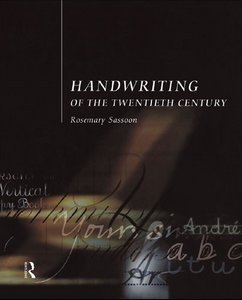 Handwriting of the Twentieth Century free download