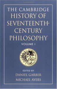 The Cambridge History of Seventeenth-Century Philosophy, Volume I free download