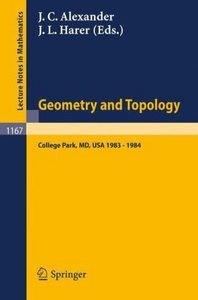 Geometry and Topology free download