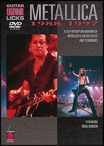 Guitar Legendary Licks: Metallica 1988-1997 [DVD5] free download