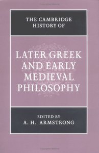 The Cambridge History of Later Greek and Early Medieval Philosophy free download