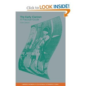 The Early Clarinet: A Practical Guide free download