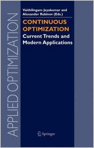 Continuous Optimization: Current Trends and Modern Applications (Applied Optimization) by V. Jeyakumar free download