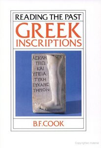 Greek Inscriptions (Reading the Past) free download