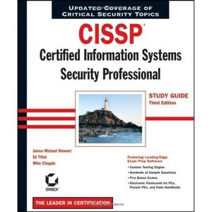 CISSP : Certified Information Systems Security Professional Study Guide free download