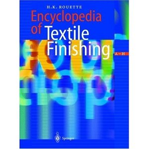 Encyclopedia of Textile Finishing Three Volume Set free download