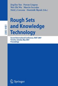 Rough Sets and Knowledge Technology free download