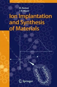 Ion Implantation and Synthesis of Materials free download