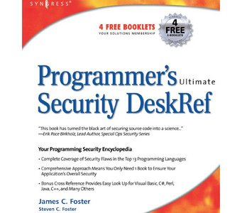 Programmer's Ultimate Security Desk Reference free download