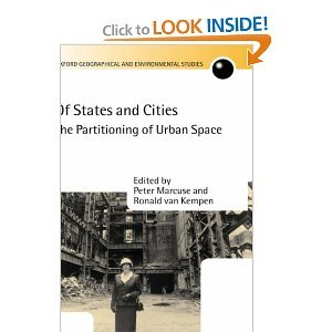 Of States and Cities: The Partitioning of Urban Space free download