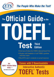 The Official Guide to the TOEFL iBT 3rd Edition free download