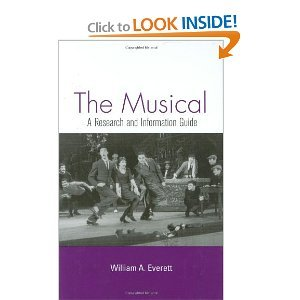 The Musical: A Research Guide to Musical Theater and Film free download