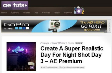 [ae.tutsplus.com] Create A Super Realistic Day For Night Shot Day free download