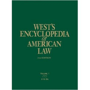 West's Encyclopedia of American Law (13 Volume Set) free download