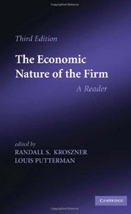 The Economic Nature of the Firm: A Reader free download