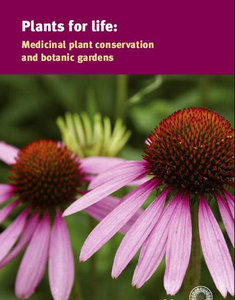 Plants for Life: Medicinal Plant Conservation and Botanic Gardens free download