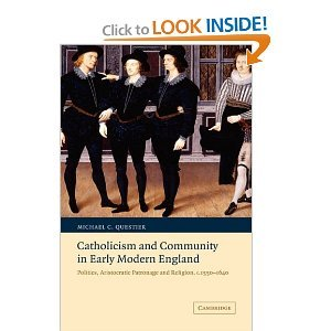 Catholicism and Community in Early Modern England - Michael C. Questier free download