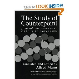 Study of Counterpoint: From Johann Joseph Fux's Gradus Ad Parnassum free download