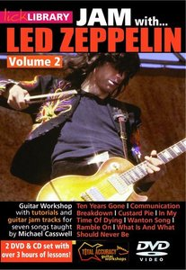 Lick Library - Jam With Led Zeppelin Vol.2 (2009) free download