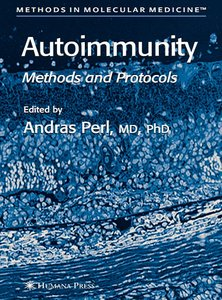 Autoimmunity: Methods and Protocols free download