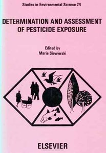 Determination and assessment of pesticide exposure free download
