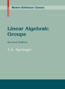 Linear Algebraic Groups, 2nd edition free download