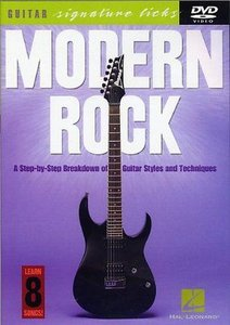 Guitar Signature Licks - Modern Rock free download