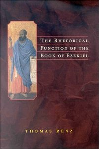 The Rhetorical Function of the Book of Ezekiel free download