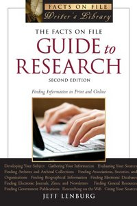 The Facts on File Guide to Research, 2nd Edition free download