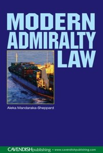 Modern Admiralty Law free download