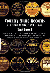 Country Music Records: A Discography, 1921-1942 free download