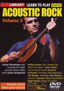 Lick Library - Learn To Play Easy Acoustic Rock - Vol. 5 free download