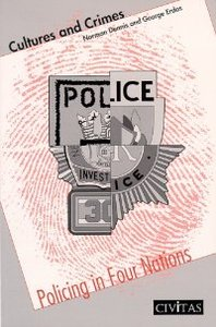 Cultures and Crimes: Policing in Four Nations free download