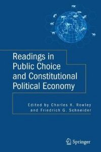 Readings in Public Choice and Constitutional Political Economy free download