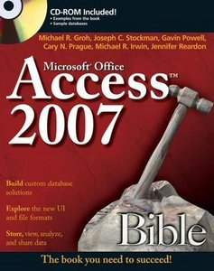 Access 2007 Bible free download