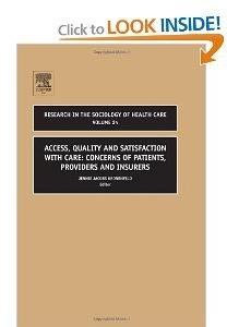 ACCESS, QUALITY AND SATISFACTION WITH CARE free download