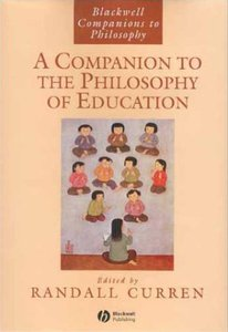 A Companion to the Philosophy of Education free download