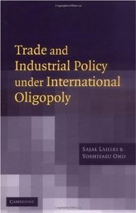Trade and Industrial Policy under International Oligopoly free download