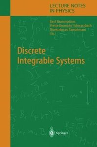Discrete Integrable Systems free download