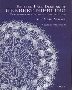 Knitted Lace Designs of Herbert Niebling Translation of Gestrickte Spitzendecken free download