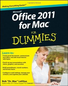 Office 2011 for Mac For Dummies free download