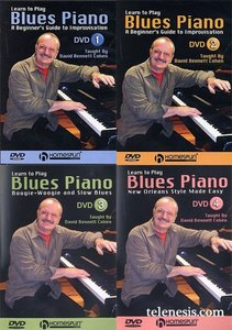 David Bennett Cohen - Learn to Play Blues Piano (4 DVD COMPLETE SET) free download
