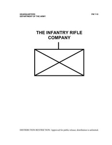 FM 7-10: The Infantry Rifle Company free download