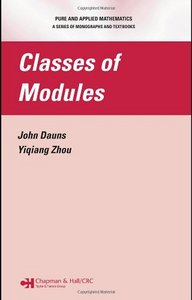 Classes of Modules free download