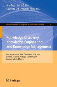 Knowledge Discovery, Knowledge Engineering and Knowledge Management free download